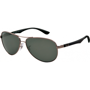 ef89bd1d95416 Ray-Ban Aviator Tech Carbon Fibre Gunmetal Polar Grey - RB8313 004 N5 -  Sunglasses - IceOptic