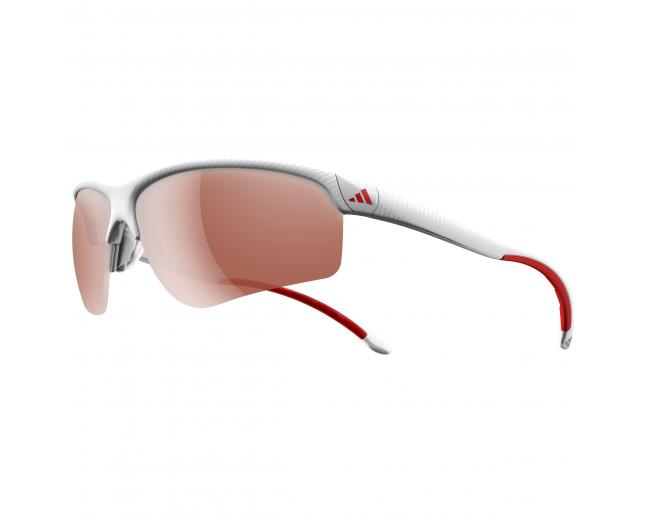8c557e348cc Adidas Adivista L White Print red LST Active Silver - A164 00-6091 -  Sunglasses - IceOptic
