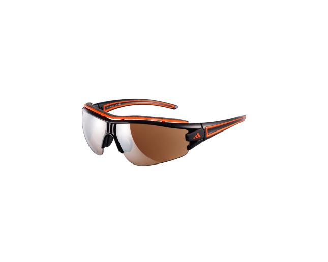 66089ee2d8 A180 00-6068. Adidas Evil Eye Halfrim Pro XS Shiny Black Orange 2 écrans  LST Active Silver et