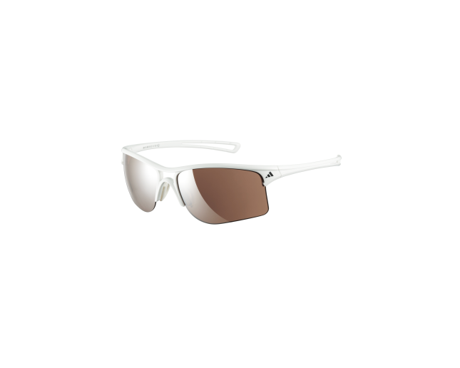 Costoso Separación célula  Adidas Raylor L Shiny White LST Active Silver - A404 00-6051 ICE -  Sunglasses - IceOptic