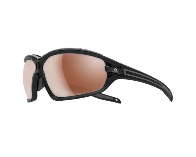 e6b425e9e5f31f Adidas Evil Eye Evo Pro S Black Matt Grey LST Polarized Silver H ...