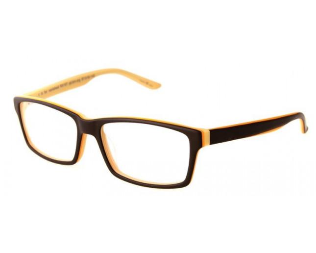 f875a3540f5e Paul Frank V Is For Vanished Matte Brown Orange - RX107 MT BRN ORG -  Eyeglasses - IceOptic