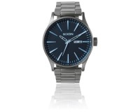 Nixon The Sentry SS Gunmetal/Blue Crystal