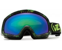 VonZipper Feenom Snakey Lime Quasar Chrome