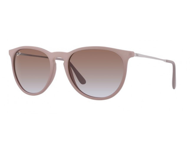 Ray-Ban Erika Dark Rubber Sand Brown Gradient - RB4171 6000 68 ... c77b9f9394f0