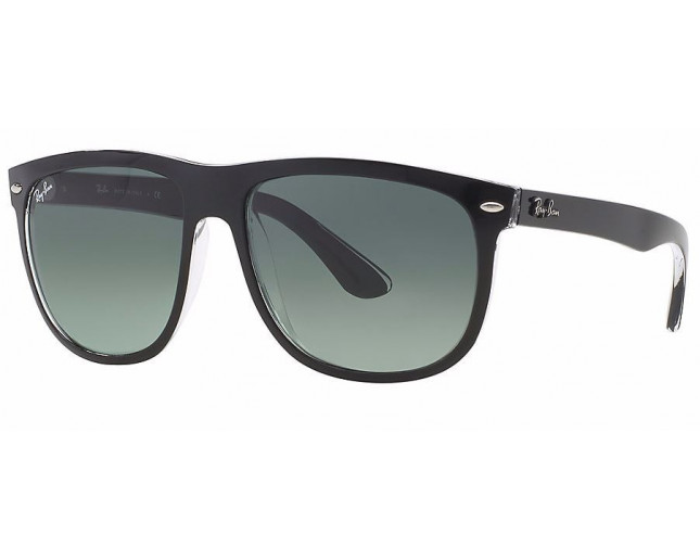 b5a9d9a7490 Ray-Ban Hightstreet Top Black On Transparent Grey Gradient Azure - RB4147  6039 71 - Sunglasses - IceOptic