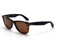 Ray-Ban Wayfarer Havana Brown Effect Aged Brown