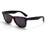 Ray-Ban Wayfarer Havana Blue Effect Aged Grey