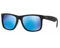 71c0bbb1045 Ray-Ban Justin Transparent Grey Grey Gradient Mirror - RB4165 606 U0 ...