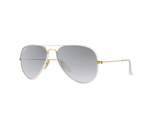 Ray-Ban Aviator Classic Shiny Gold Grey Gradient