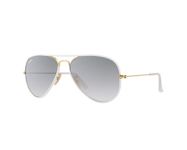 Ray-Ban Aviator Shiny Gold Grey Gradient - RB3025 146 32JM ... d148ad1220