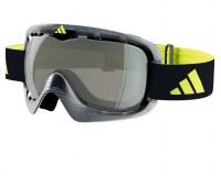 Adidas ID2 Pro Black Wire LST Bright (Antifog) + Silver Mirror