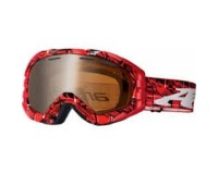 Arnette Mercenary Red Plaid Shadow Chrome