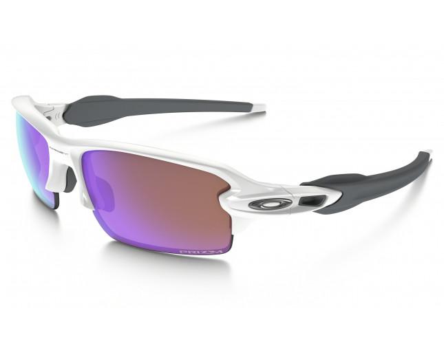 dbde5598f7 Oakley Flak 2.0 Polished white-Prizm golf - OO9295-06 - Sunglasses -  IceOptic