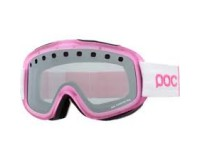 POC Iris Stripes Small Ytterbium Pink Clear with Silver Mirror