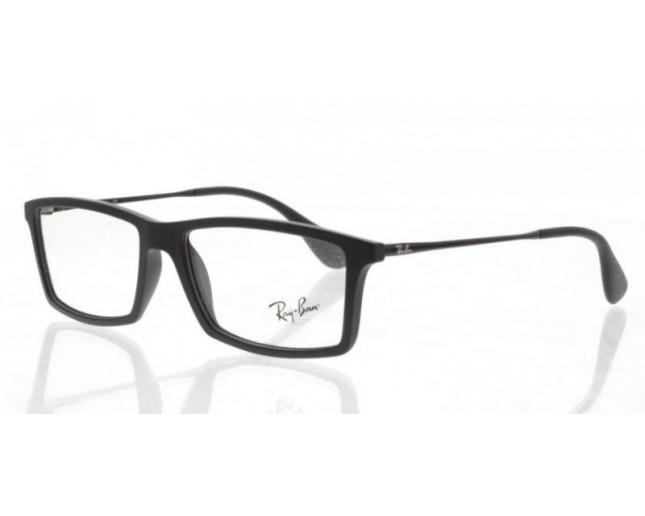 Ray Ban RX7021 Rubber Black - RX7021 5364 - Eyeglasses - IceOptic