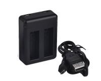 GoPro Chargeur de batterie double Hero3 et 3+