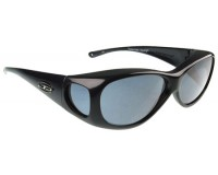 Fitovers Lotus Matte Black Grey Polarized
