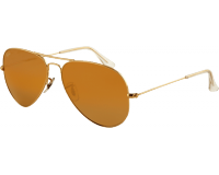 Ray-Ban Aviator Classic Los Angeles Gold Brown