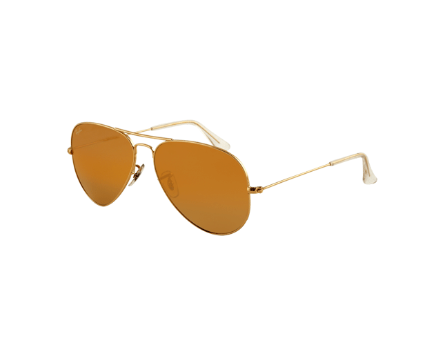 a0a7397c6e282 Ray-Ban Aviator Los Angeles Gold Brown - RB3025 001 4I ICE - Sunglasses -  IceOptic