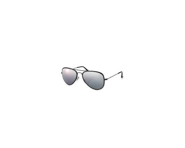 8da3fdc31 ... shopping ray ban aviator flat metal black silver mirror polarised e57fe  a28b9