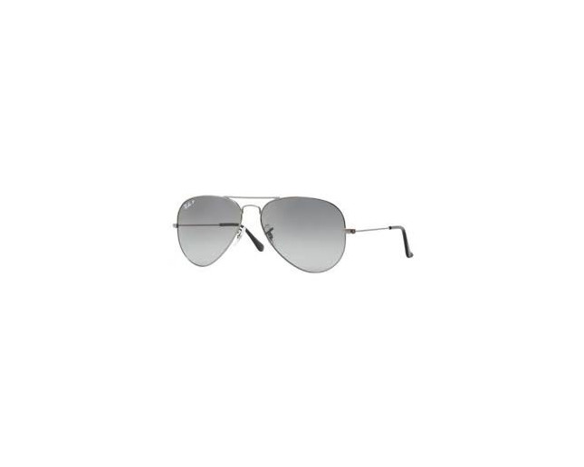 Ray-Ban Aviator Gunmetal Crystal blue gradient polarisé - RB3025 004 ... 6f3207c8f8