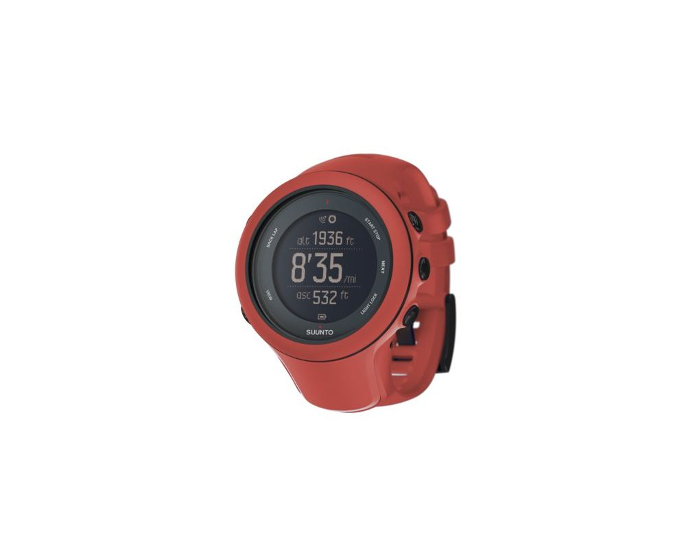 Suunto Ambit3 Sport Corail Ss021468000 Multisports Watches And Black Hr Gps Watch For Outdoor Sports White