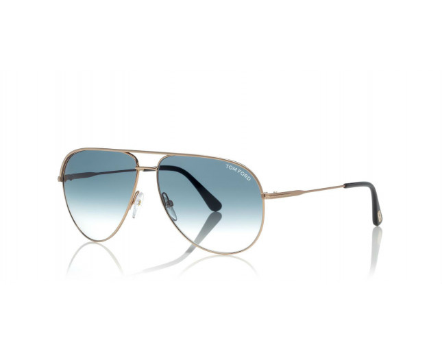9aac025ed Tom Ford Erin Rose Gold Blue Gradient Lens - TF0466 29P ICE ...