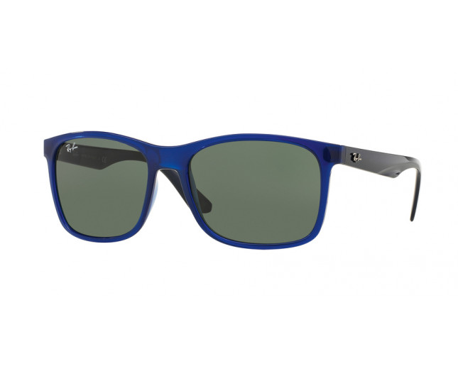 eaee5bd047 Ray Ban RB4232 Blue Plastic Grey Green - RB4232 6196 71 - Sunglasses ...