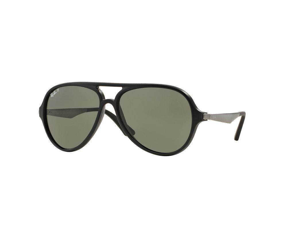 d8d029dd9f665 Ray-ban Black And Crystal. Ray-Ban New Wayfarer Sunglasses Black Crystal  Green Polarised ...