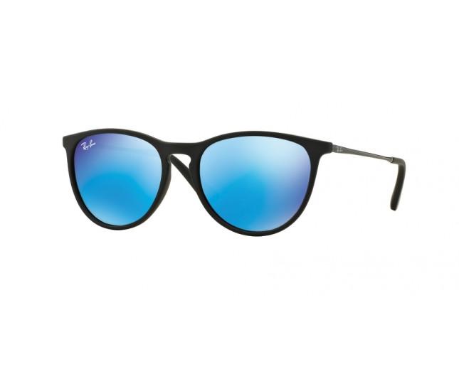 b857970cf57b Ray-Ban RJ9060S Rubber Black-Light green mirror blue - RJ9060S 7005 ...
