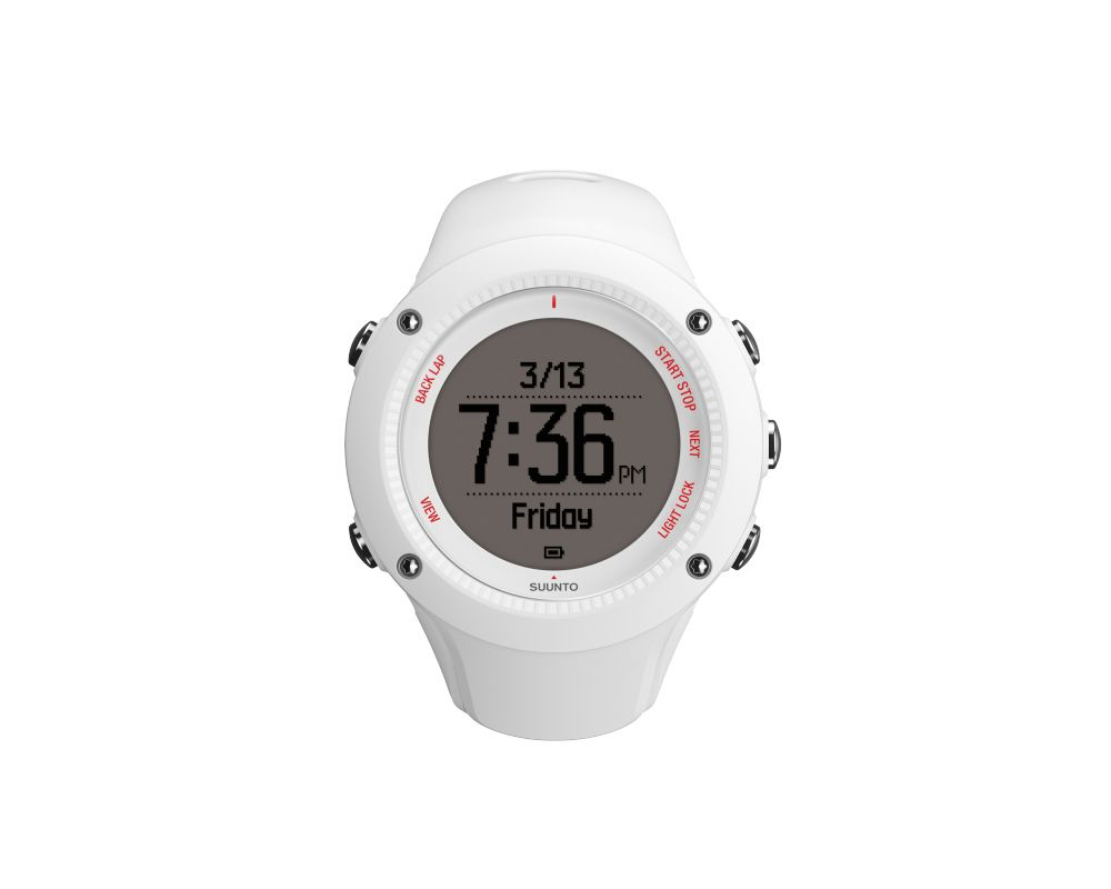 Suunto Ambit3 Run White Ss021258000 Multisports Watches And Sport Black Hr Gps Watch For Outdoor Sports