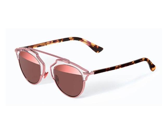 1c313482b0a Dior So Real Pink Havana Brown Pink Mirror. 217883 KM9 8R. Dior DiorLady1R  Havana Blue Black Gradient Grey