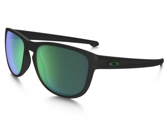 15ebe9cf78 Oakley Sliver R Matte Black-Jade Iridium - OO9342-05 - Sunglasses ...