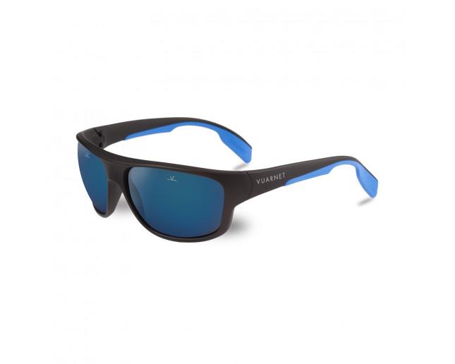Vuarnet 02 Noir Mat Vert Flash Bleu 4b7VTKBK