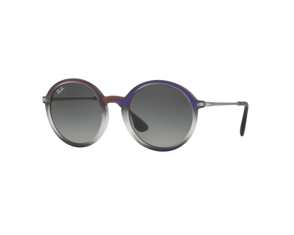 6860d3bf4e Ray-Ban Youngster Violet Shot On Black Plastic Grey Gradient Dark Grey