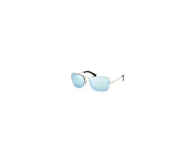 49f21ccb6cb12 Ray-Ban 3541 Silver Silver mirror - RB3541 003 30 - Sunglasses ...