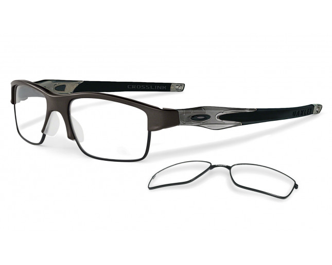 Oakley Crosslink Switch Pewter - OX3128-02 - Lunettes de vue - IceOptic 6cd4472d951d