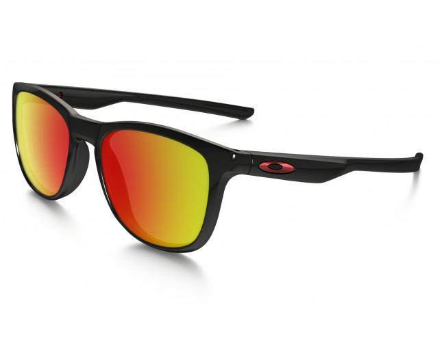 c4f35b6d95 Oakley Trillbe X Polished Black-Ruby iridium