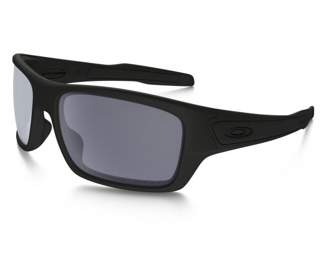 a436baf1d0 Oakley Turbine Matte Black-Grey Polarized - OO9263-07 - Sunglasses -  IceOptic