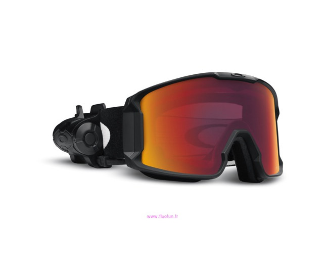 11719fb445 Oakley Line Miner Matte black- Prizm inferno Torch iridium. OO7070-09.  Oakley Airbrake Topography Lime Black 2 lenses