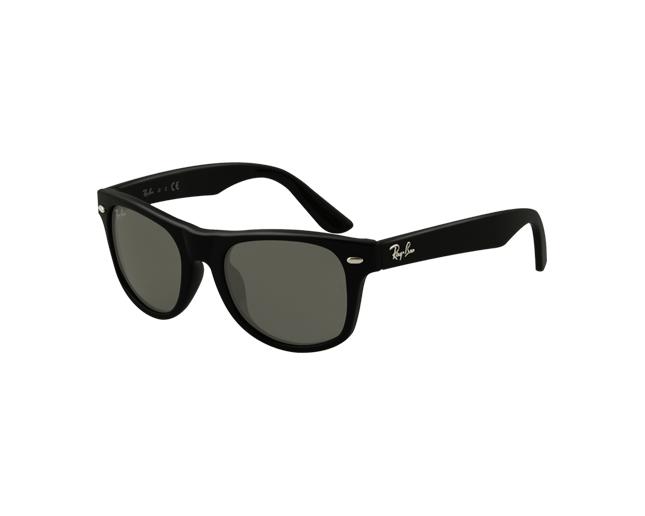8d377b529df Ray-Ban Junior Wayfarer RJ9035S Black Green - RJ9035S 100 71 - Sunglasses -  IceOptic