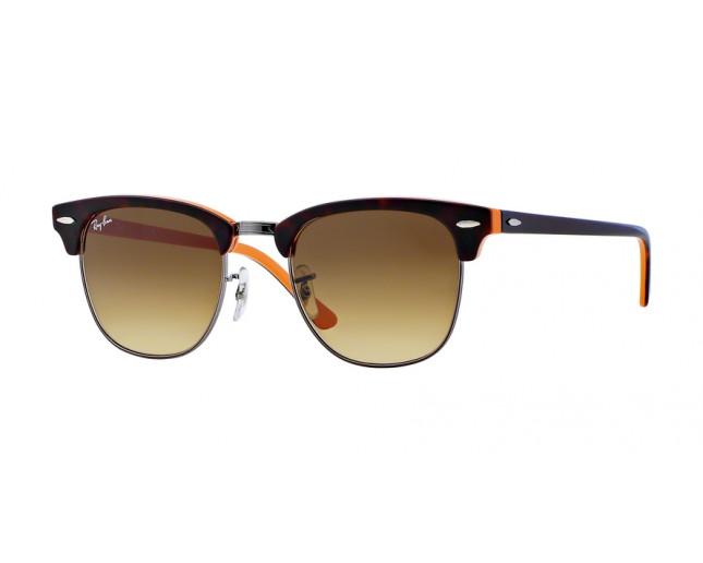 d82f1b782f ... Top Dark Havana On Orange Gunmetal Crystal Brown Gradient Dark Brown.  RB3016 1126 85 49. Ray-Ban Clubmaster RB3016 1126 85