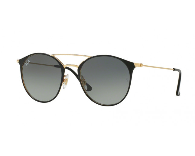 Ray Ban Rb3546 Gold Top Black Grey Gradient