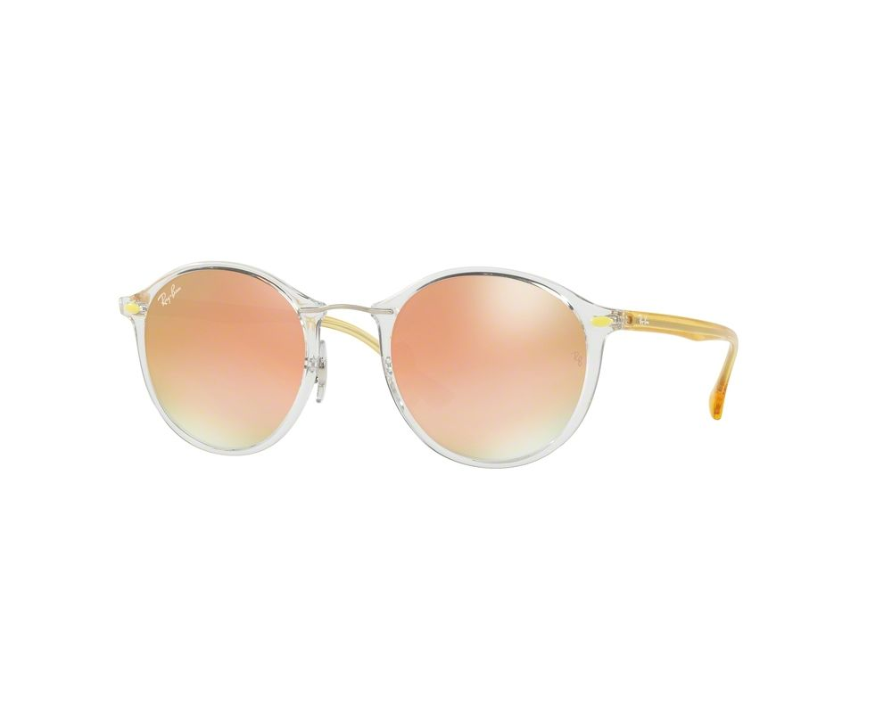 2a45353396 Ray Ban RB4242 Transparent Brown Gradient Mirror Pink - RB4242 6288 ...