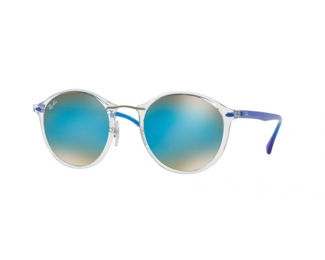 Ray Ban RB4242 Transparent Brown Gradient Mirror Blue - RB4242 6289 ... 8a0d39a59716