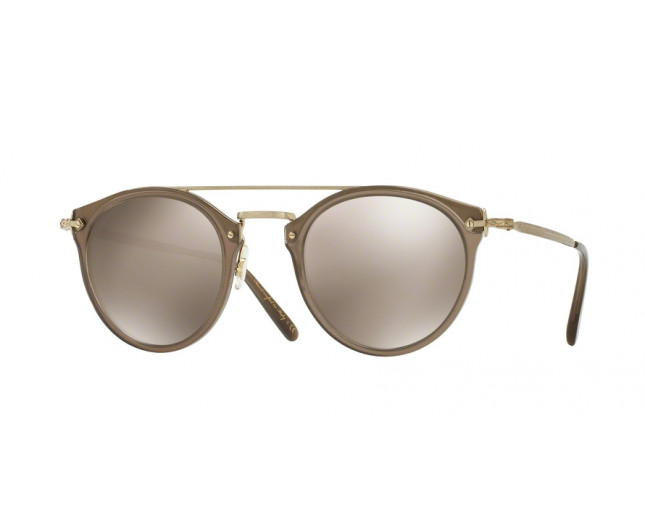 5406f5bc37 Oliver Peoples Remick Taupe Taupe Flash Mirror - OV5349S 14736G o ...