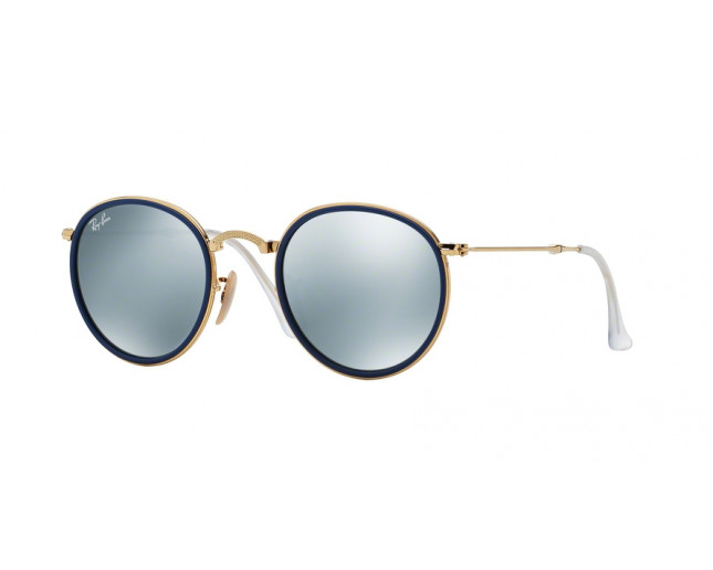Ray-Ban Herren RB3517 Sonnenbrille, GOLD (GOLD), 48 mm Lens/22 mm Bridge/140 mm Temple