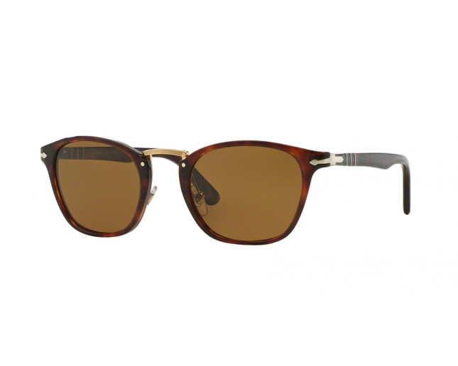 a940bc8459 Persol Typewriter Edition Havana Brown Polarized - PO3110S 24 57 ICE ...