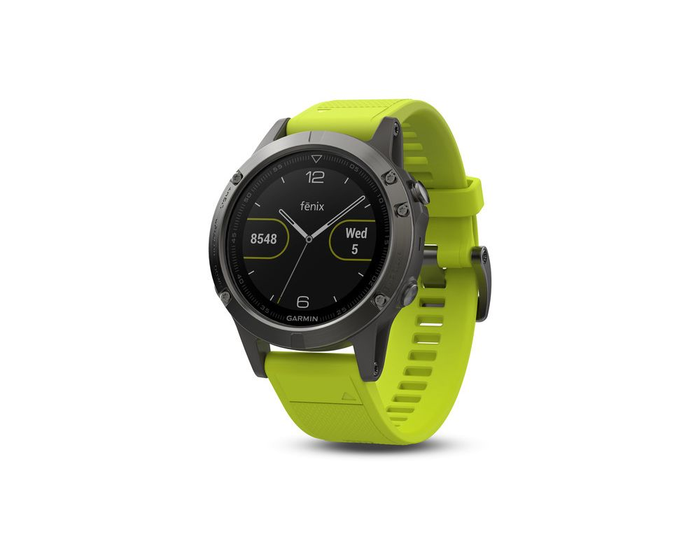 garmin f nix 5 hr black bracelet jaune 010 01688 02 montres outdoor et gps iceoptic. Black Bedroom Furniture Sets. Home Design Ideas
